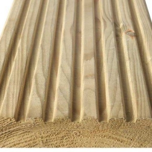 Timber Decking Smooth & grooved